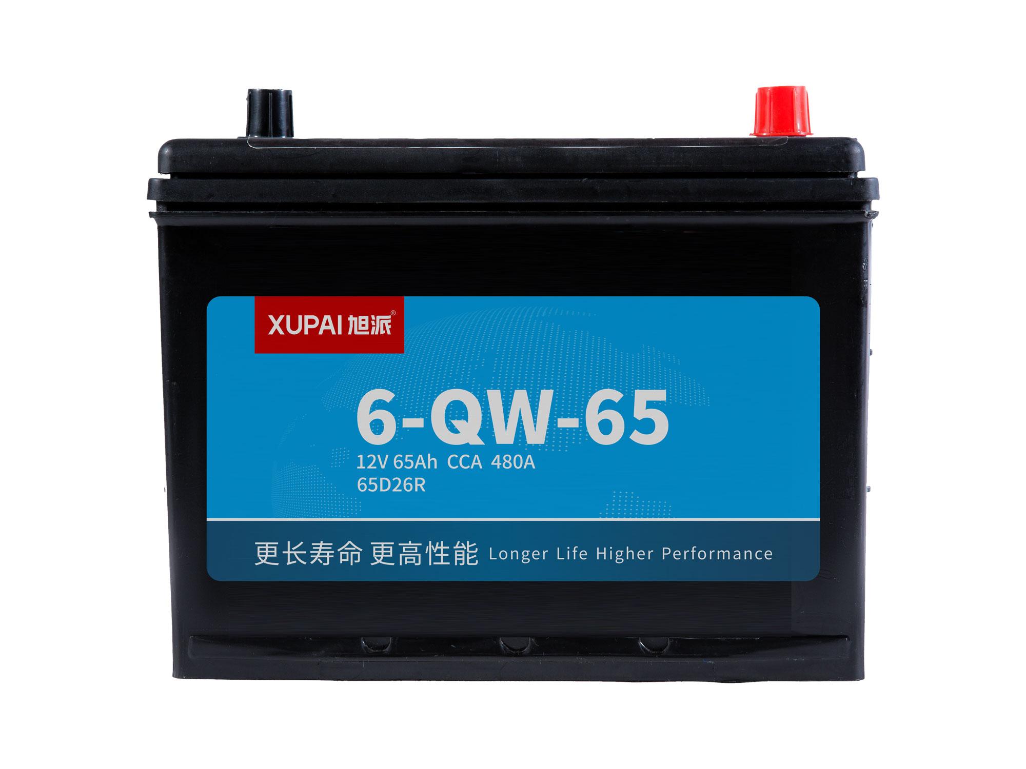 6-QW-65启动电池