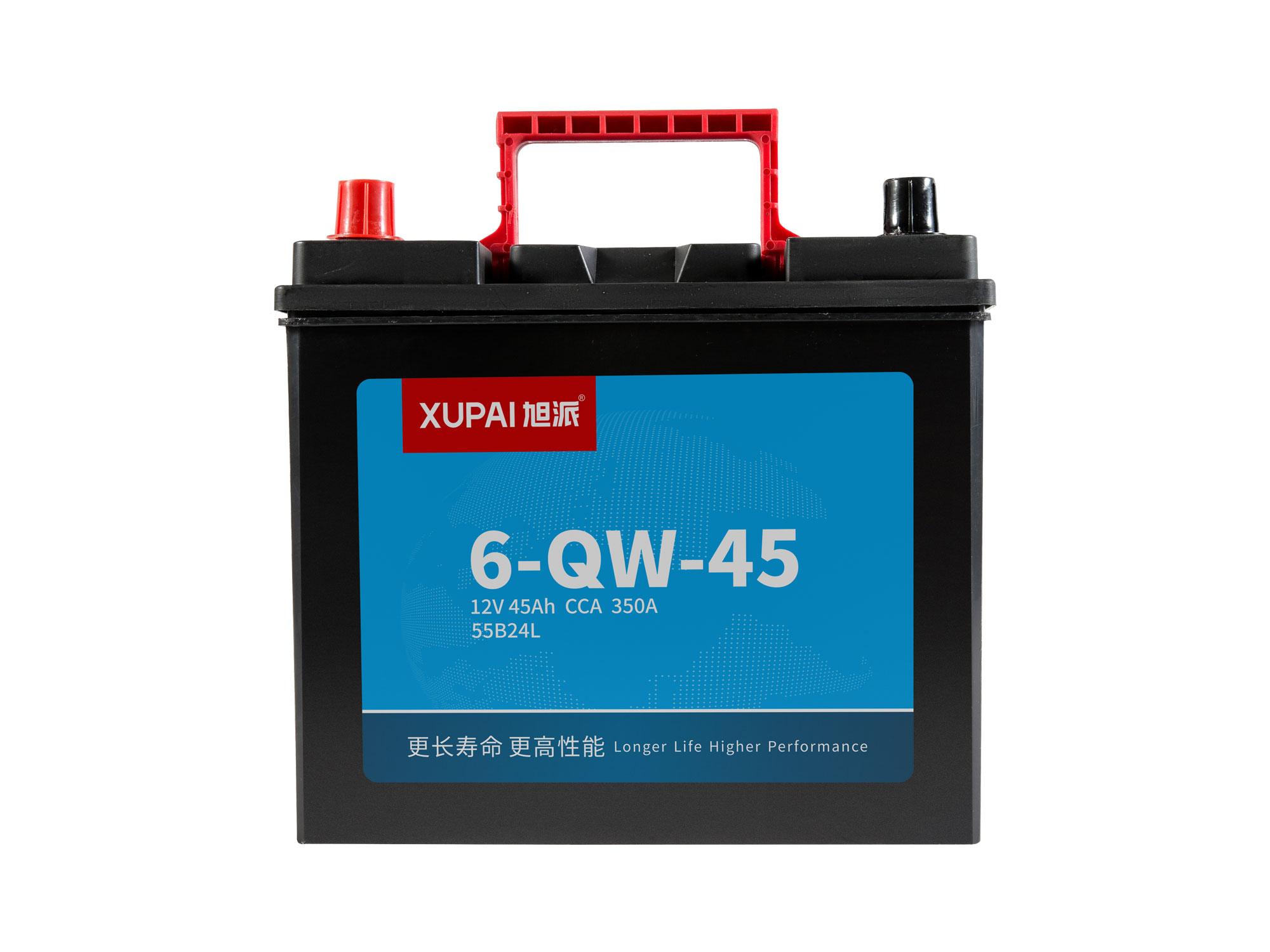 6-QW-45启动电池