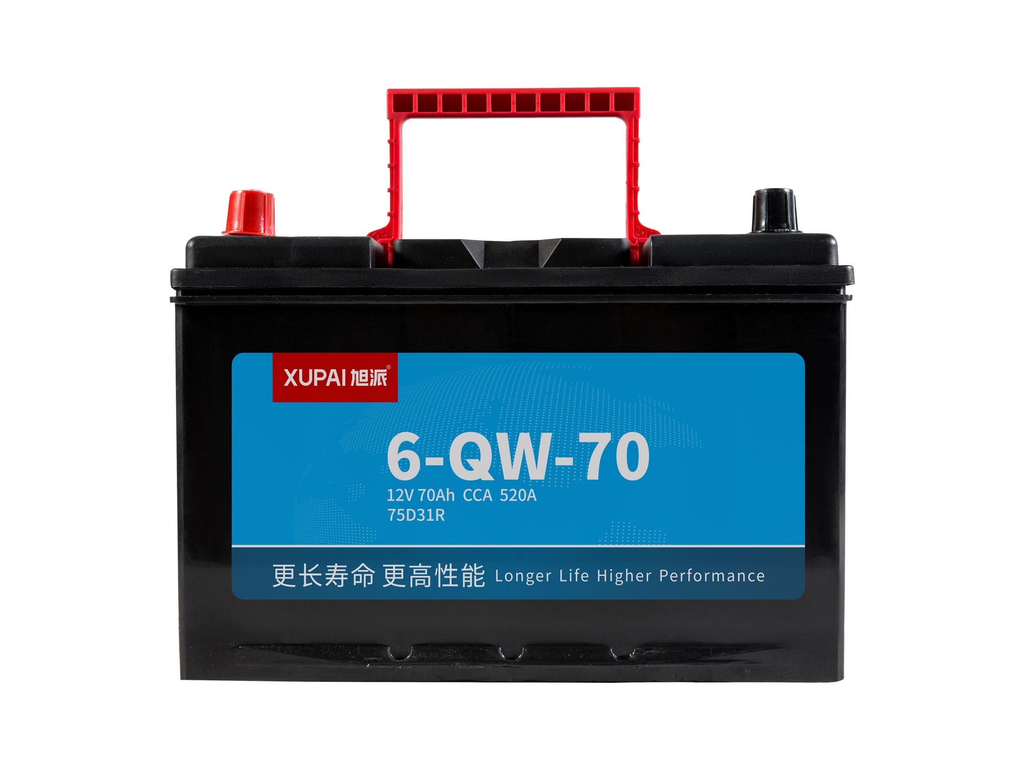 6-QW-70启动电池