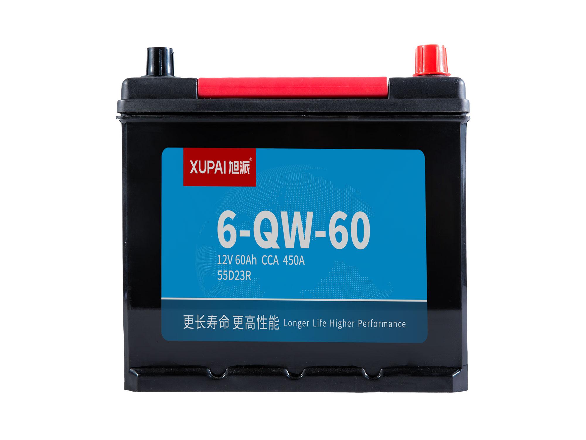 6-QW-60启动电池