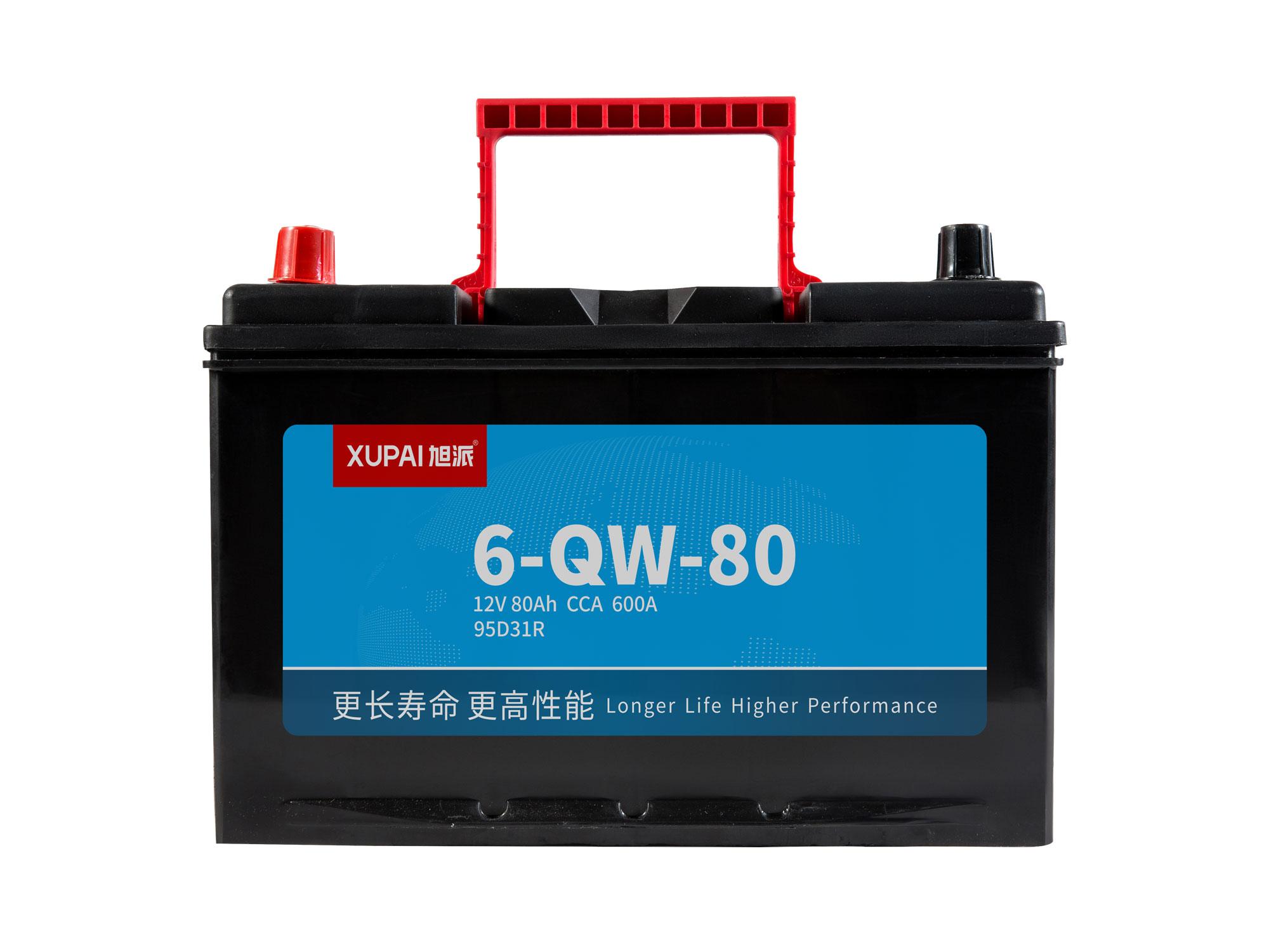 6-QW-80启动电池