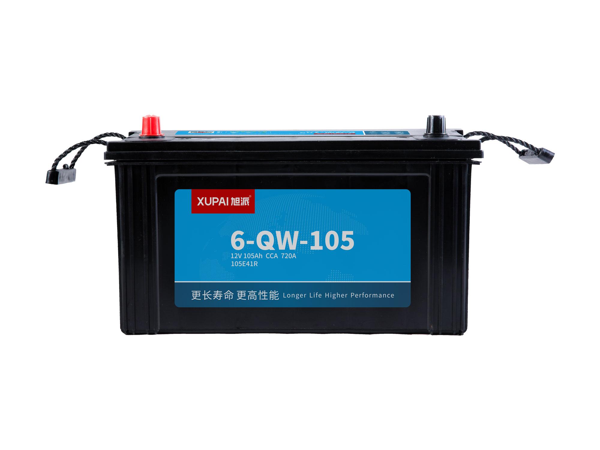 6-QW-105启动电池