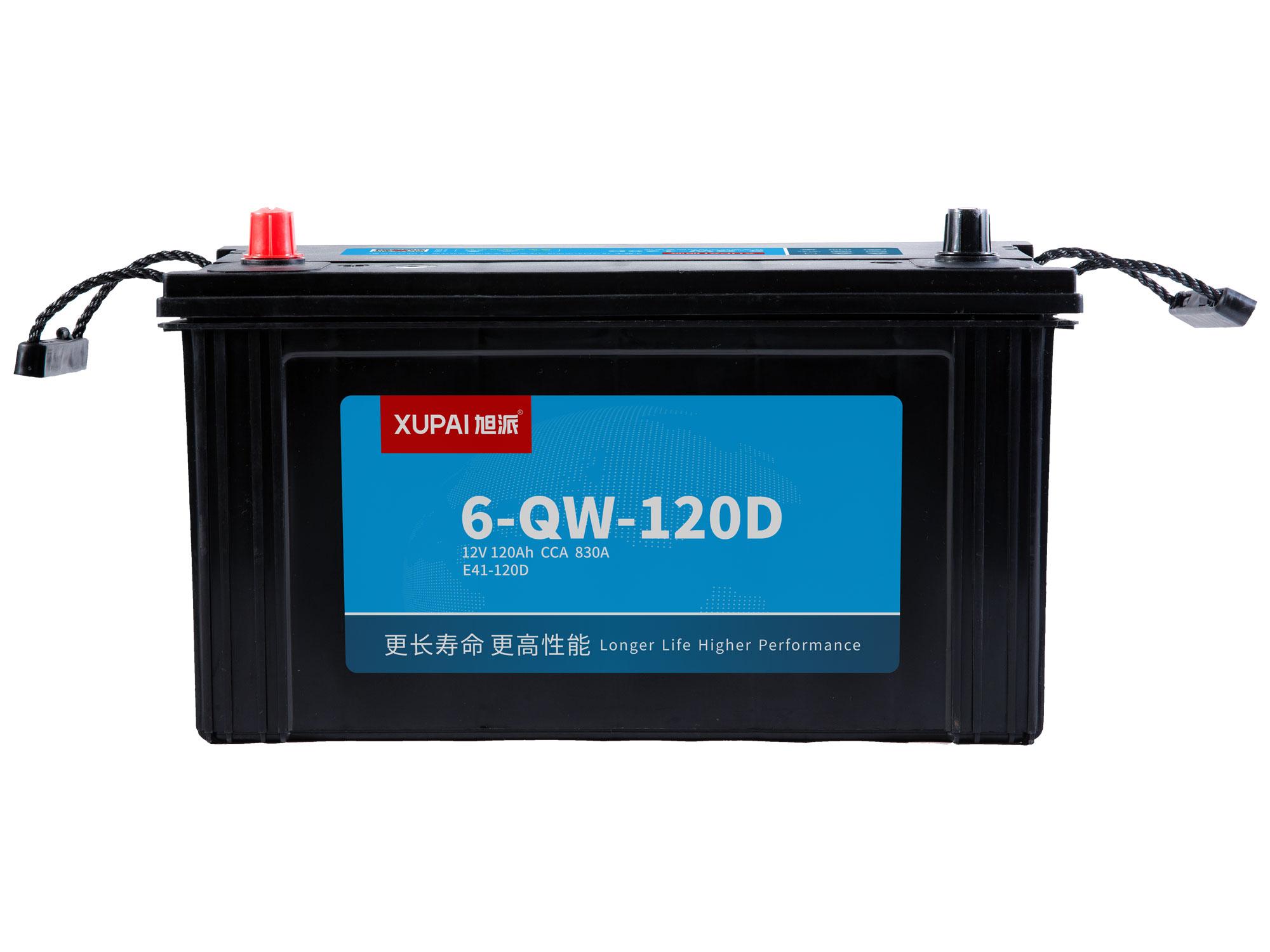 6-QW-120D启动电池