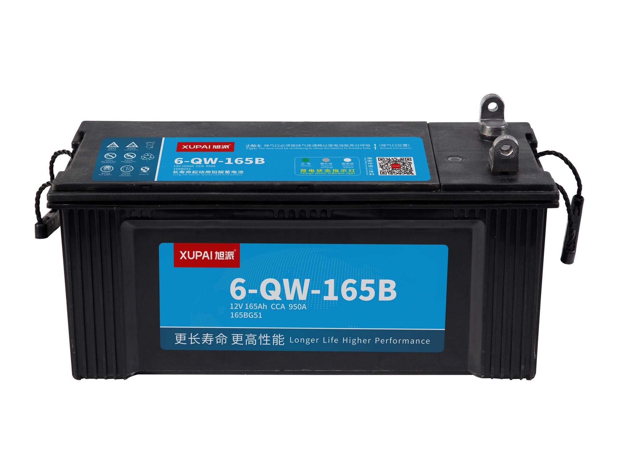 6-QW-165B启动电池