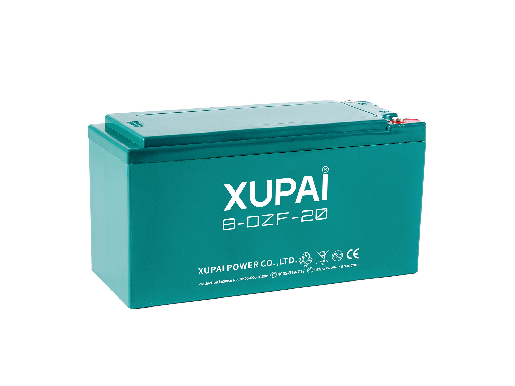 XUPAI 8-DZF-20(8-DZM-20) Lead acid batetry