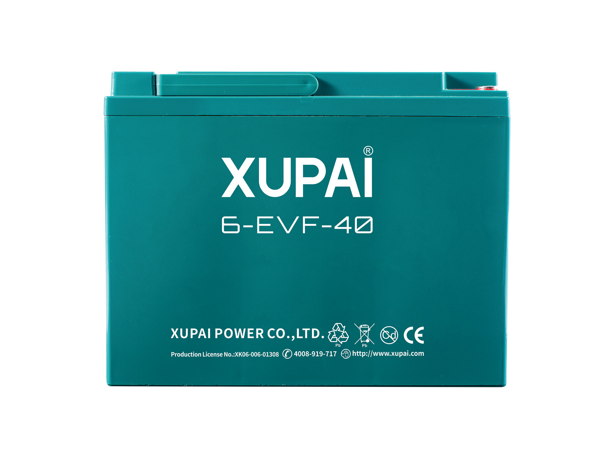XUPAI 6-EVF-40 Lead acid batetry electric bicycle battery electric bike battery
