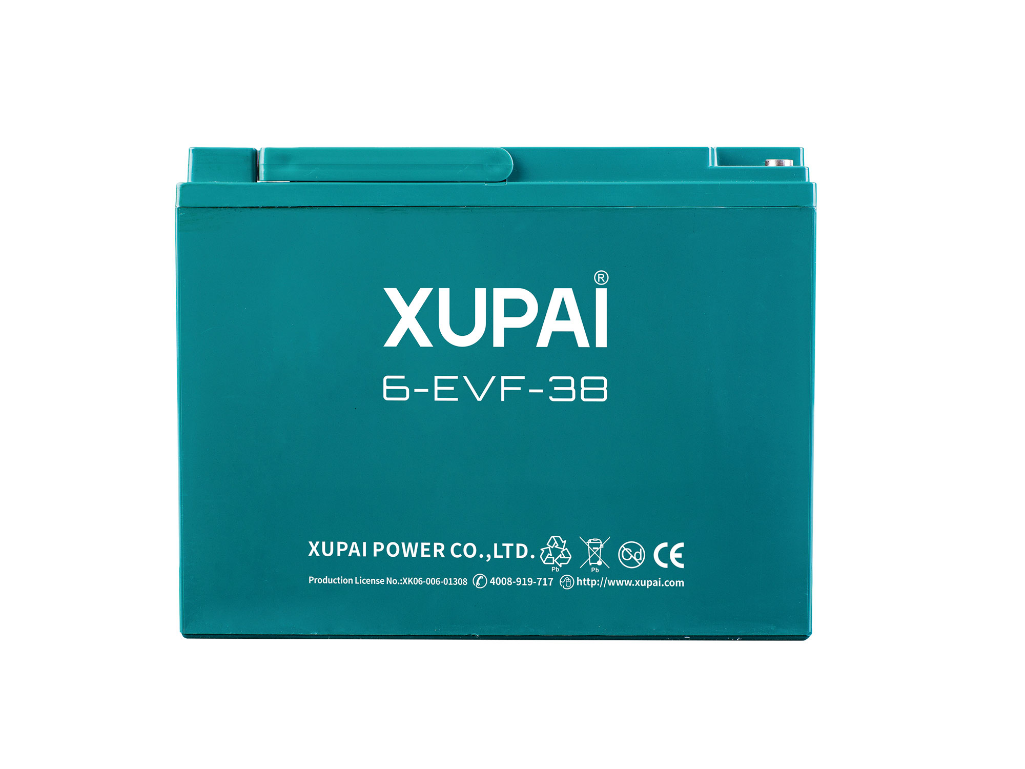 XUPAI 6-EVF-38 Lead acid batetry electric bicycle battery electric bike battery