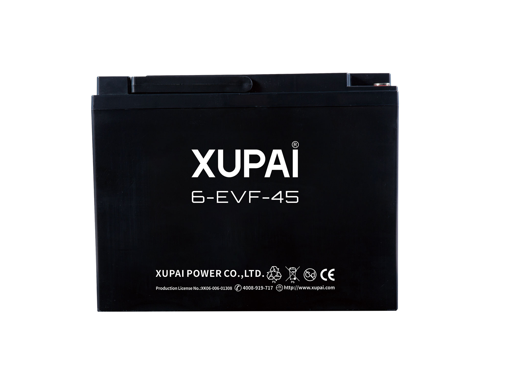 XUPAI 6-EVF-45 Lead acid batetry electric bicycle battery electric bike battery