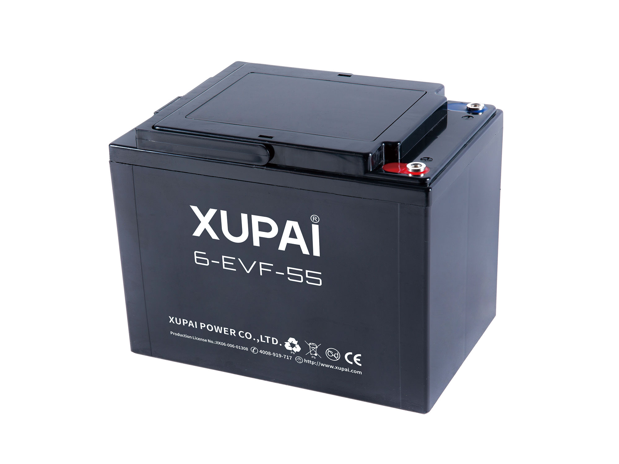 XUPAI 6-EVF-50 Lead acid batetry electric bicycle battery electric bike battery