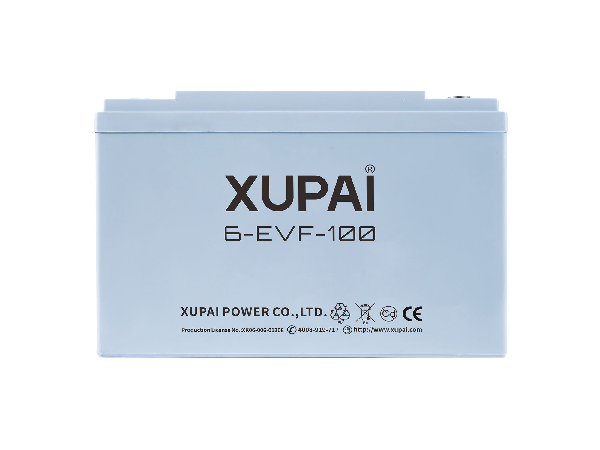 XUPAI 6-EVF-100 Lead acid batetry electric bicycle battery