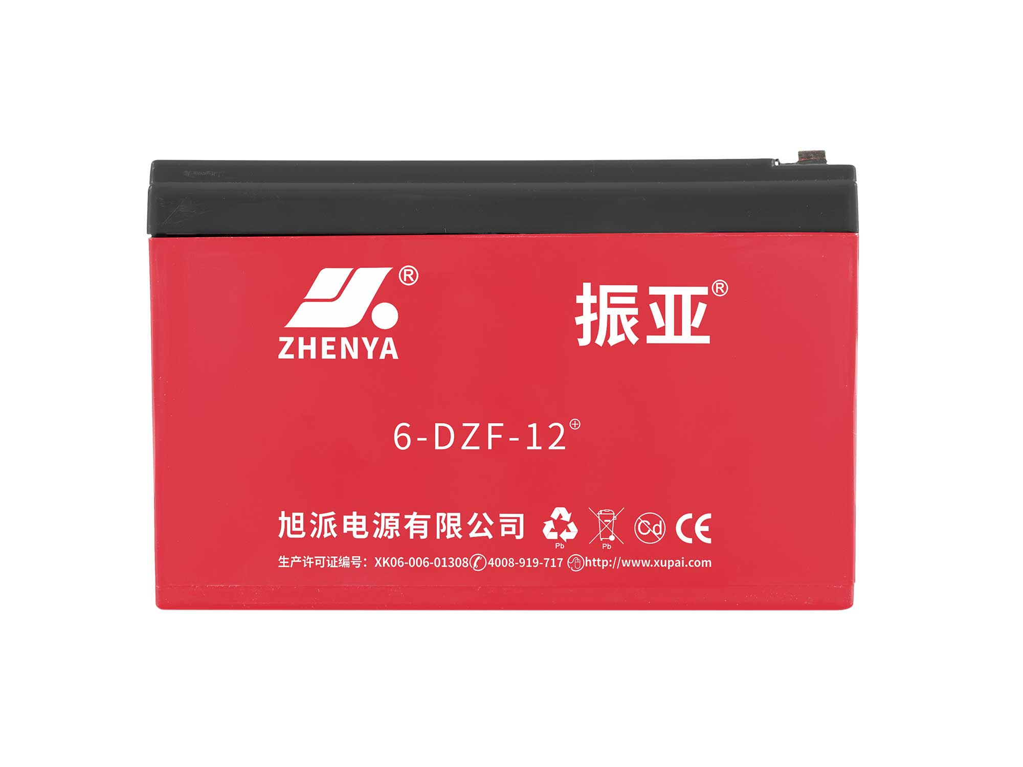 振亚6-DZF-12+电动车电池