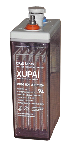 XUPAI OPzS2-250  tubular flooded series battery