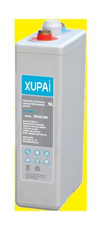 XUPAI OPzV2-200  tubular battery  vrla AGM battery telecom battery