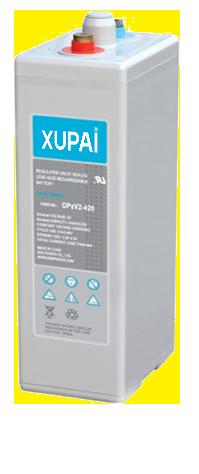XUPAI OPzV2-420  tubular battery  vrla AGM battery telecom battery