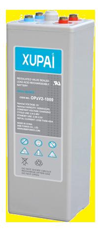 XUPAI OPzV2-1000  tubular battery  vrla AGM battery telecom battery