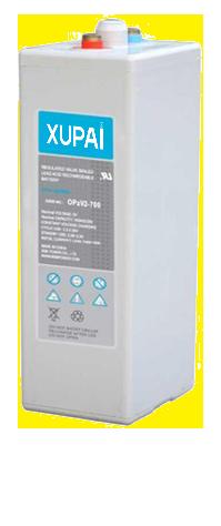 XUPAI OPzV2-700  tubular battery  vrla AGM battery telecom battery