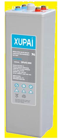 XUPAI OPzV2-800  tubular battery  vrla AGM battery telecom battery