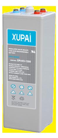XUPAI OPzV2-1200  tubular battery  vrla AGM battery telecom battery