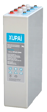 XUPAI OPzV2-2500  tubular battery  vrla AGM battery telecom battery