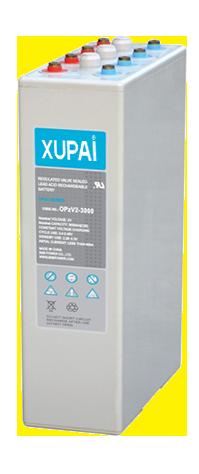 XUPAI OPzV2-3000  tubular battery  vrla AGM battery telecom battery