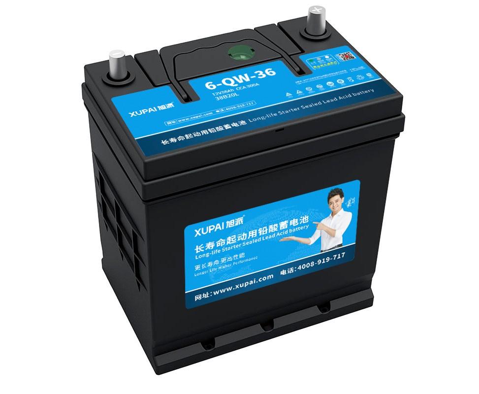 XUPAI 6-QW-36(38B20L) Lead acid batetry  car battery