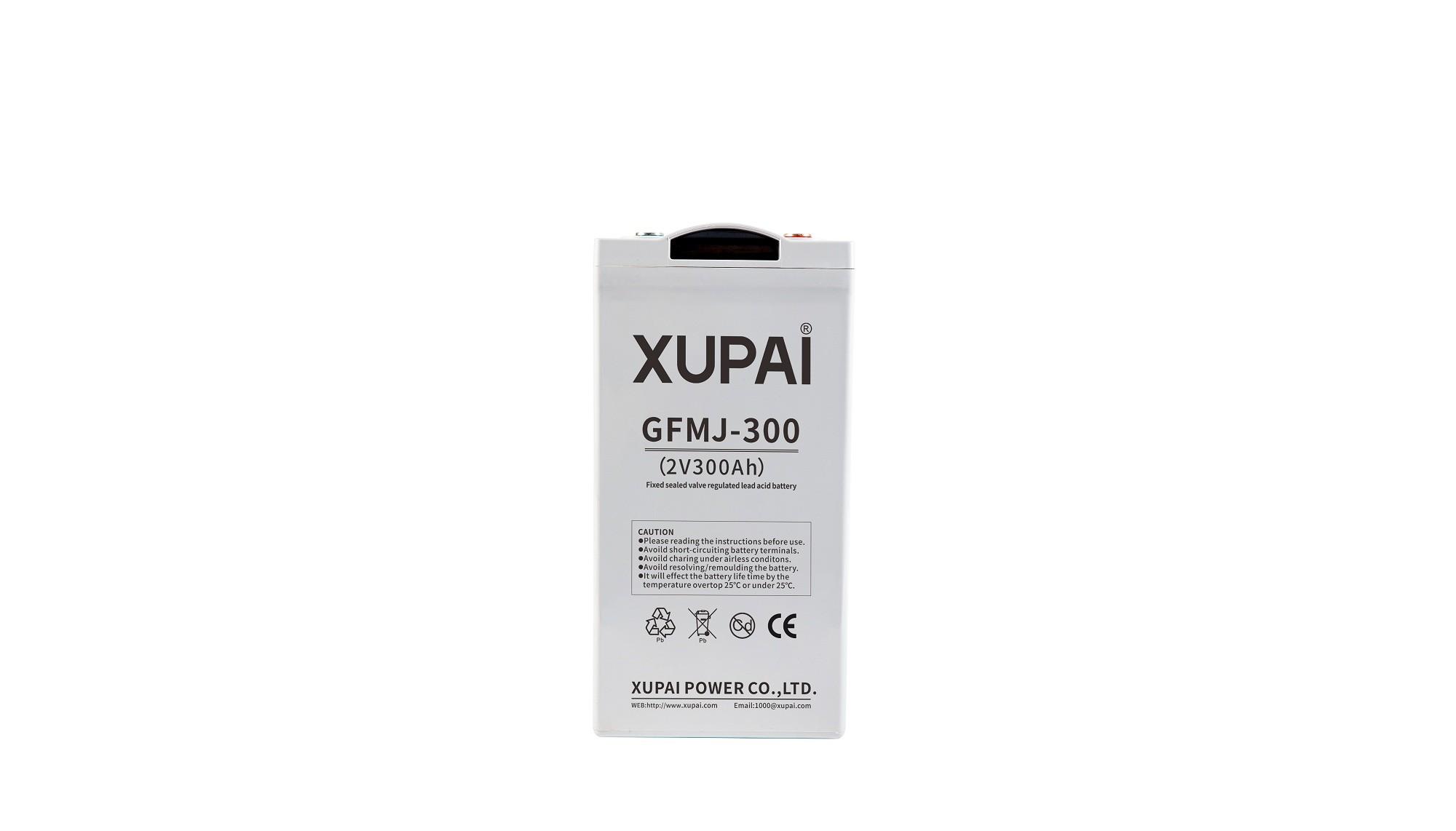 XUPAI GFMJ-300 long life backup  base station GEL battery