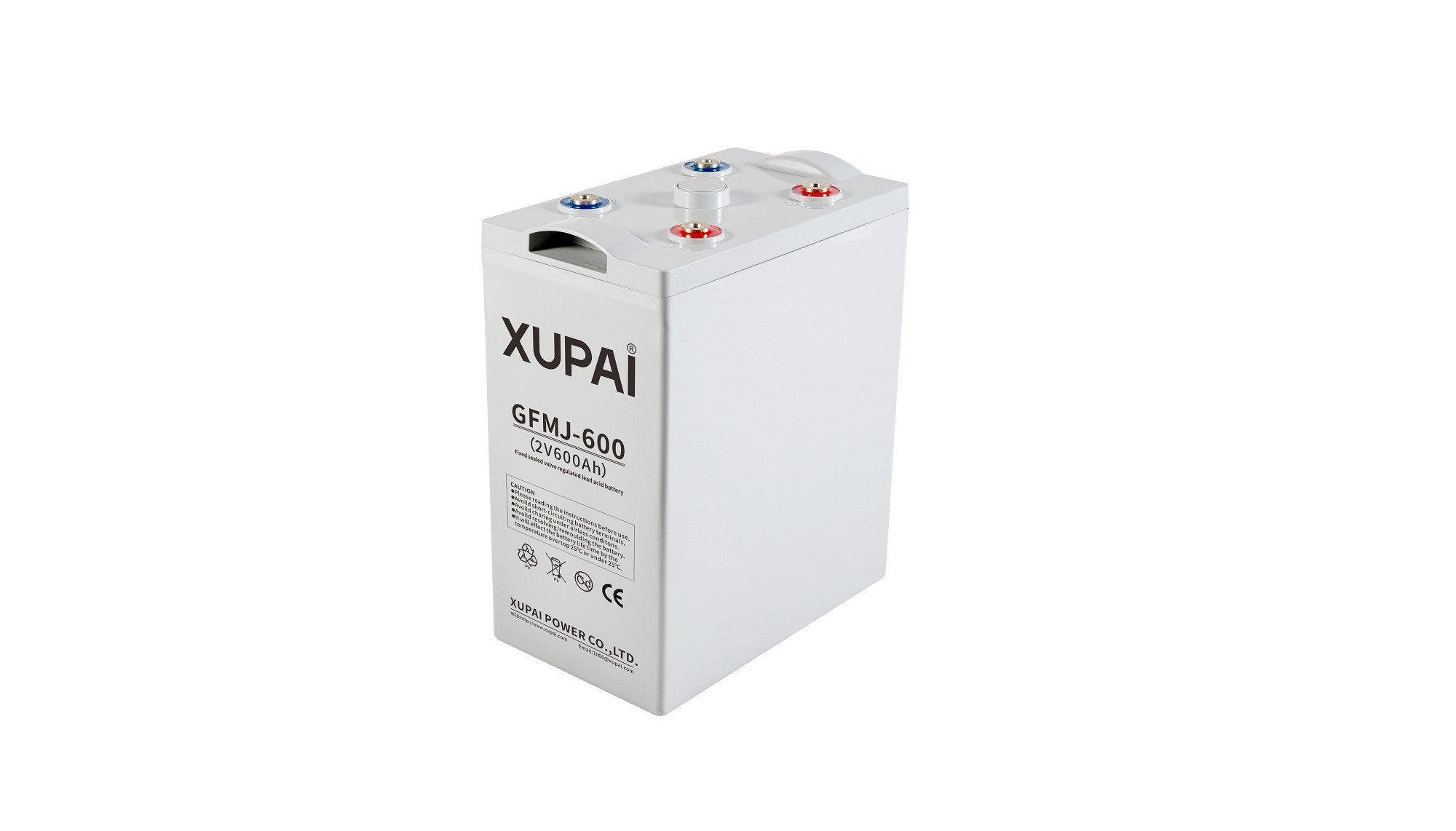 XUPAI GFMJ-600 long life backup  base station GEL battery