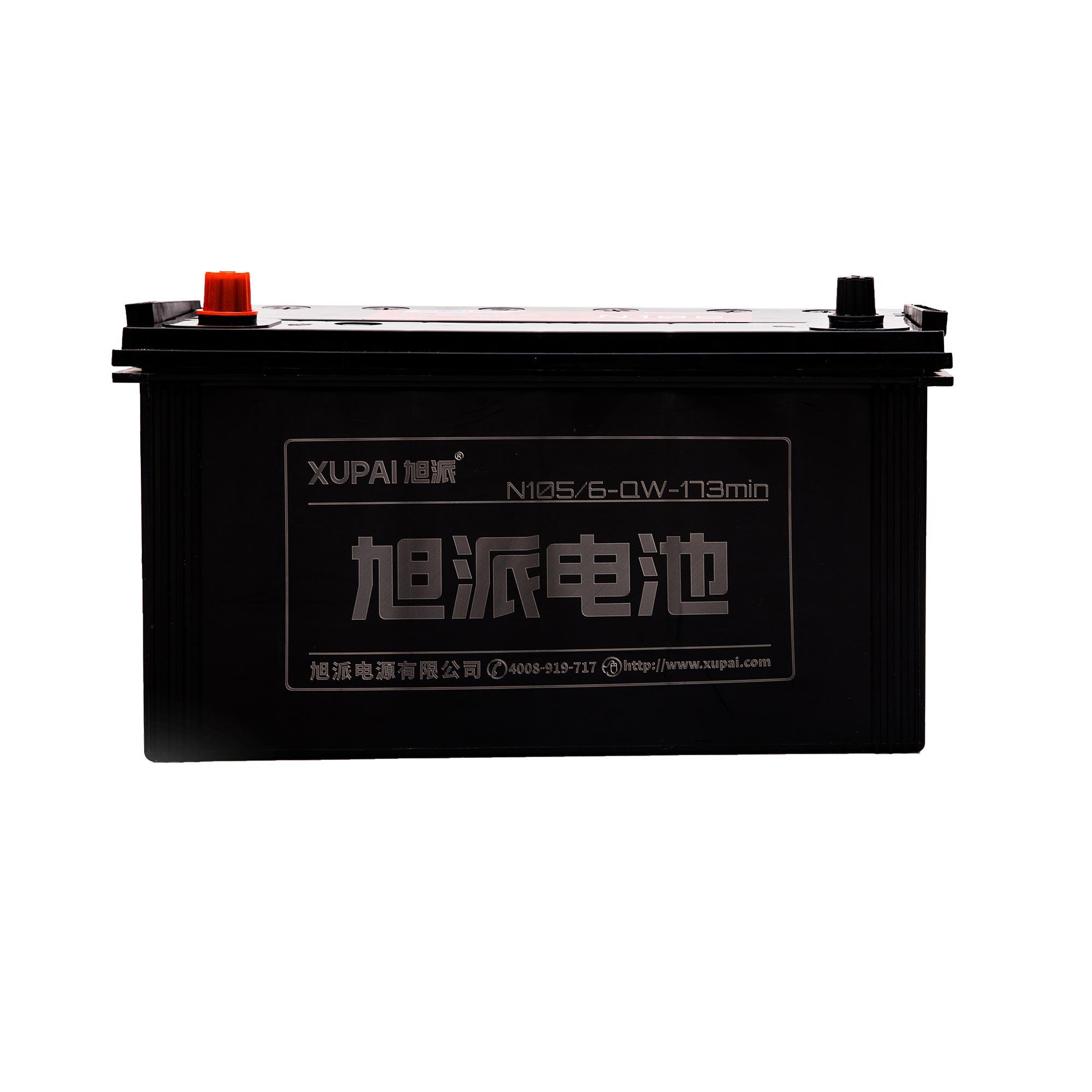 旭派6-QW-173MIN/N105长寿命汽车起动电池