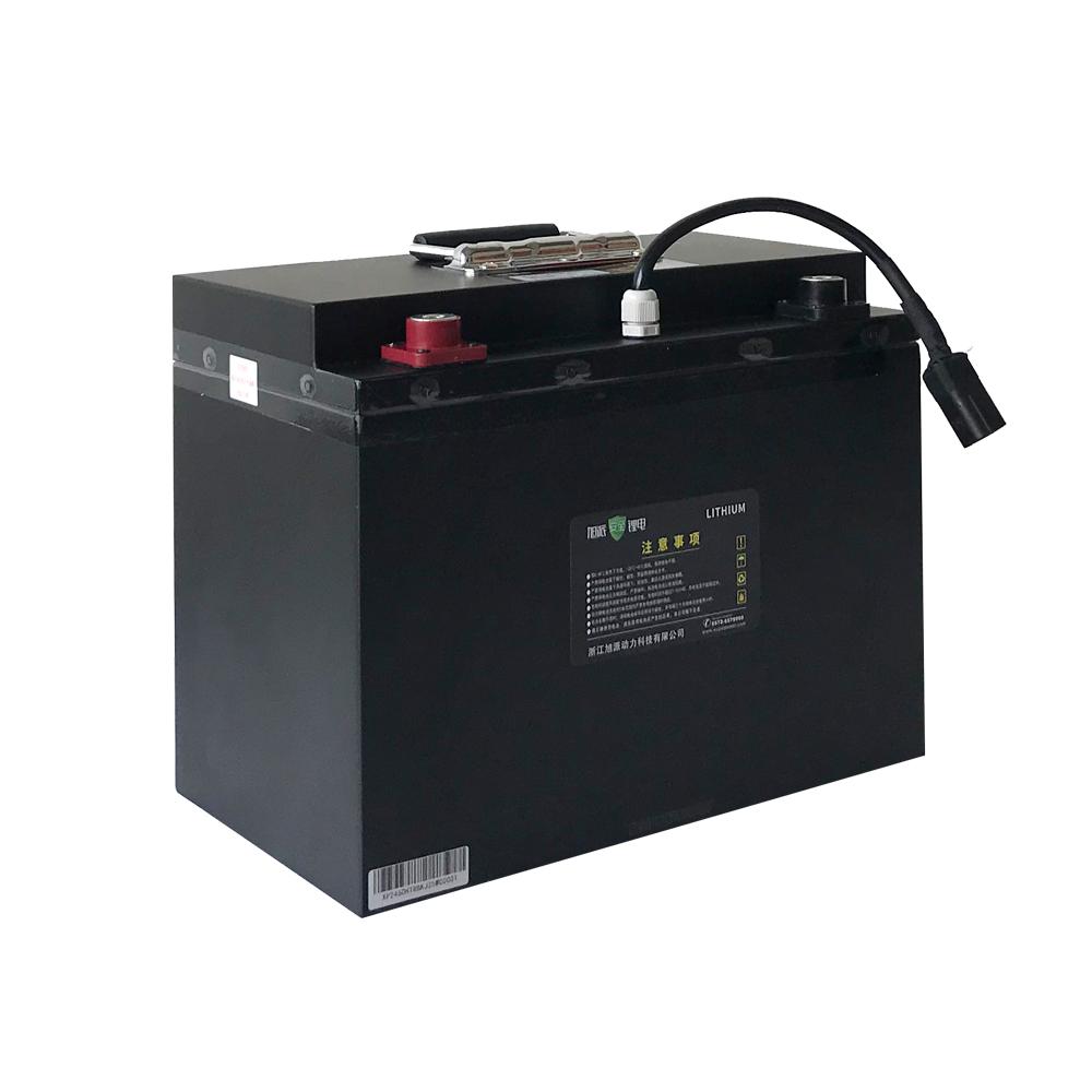 叉车款24V60Ah磷酸铁锂电池