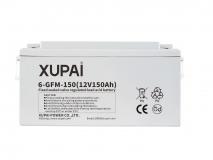 XUPAI 6-GFM-150 long life backup  base station battery
