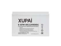 XUPAI 6-GFM-80 long life backup  base station battery
