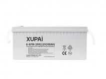 XUPAI 6-GFM-200 long life backup  base station battery