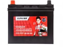 旭派6-QW-60MIN/55B24长寿命汽车起动电池